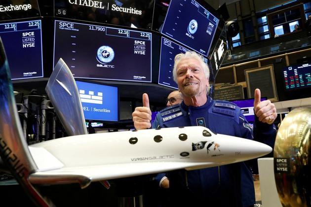贝索斯马斯克和布兰森展开太空旅游竞赛谁将成为大赢家